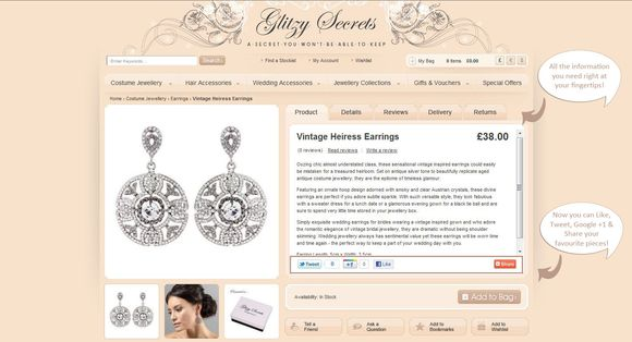 Glitzy Secrets 'Sparkle Week' ~ 25% Discount For All Readers + £150 Voucher To Win... ()