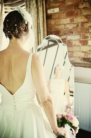 A Sassi Holford Wedding Dress for a 1950s Inspired Somerset Wedding... (Weddings )