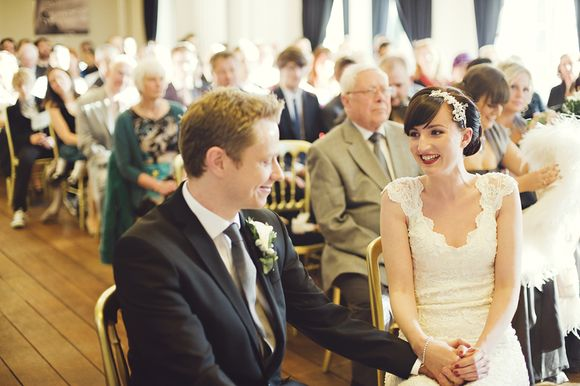 A Cinematic Celebration at Pinewood Studios for an Audrey Inspired Bride... (Weddings )