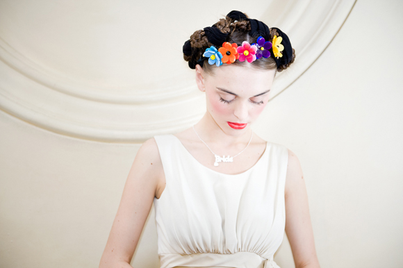 Modern Meets Vintage ~ A Frida Kahlo Inspired Shoot With Zoe Lem and Tatty Devine... ()