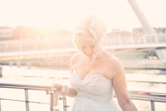 Reader Giveaway ~ Bespoke Kat Swank Bridal Headpiece, Worth $650/£400... (Weddings )