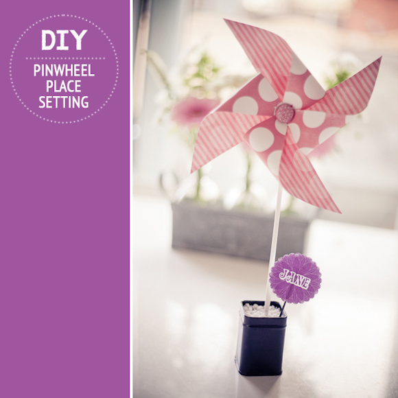 How To Create a Pinwheel Place Setting, by Michelle Kelly of Pocketful of Dreams... (DIY Projects )