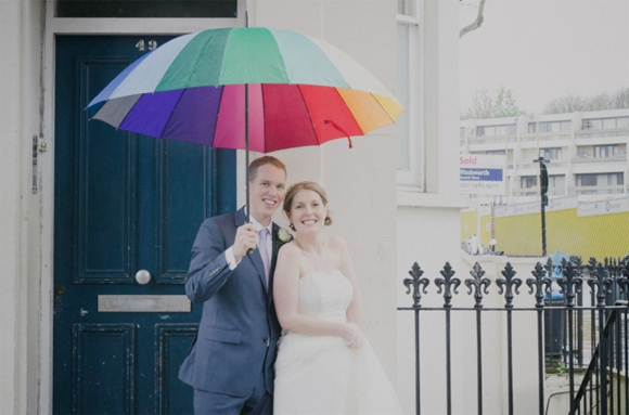 Love, Laughter and Smiles on a Rainy Day Wedding in London... (Weddings )