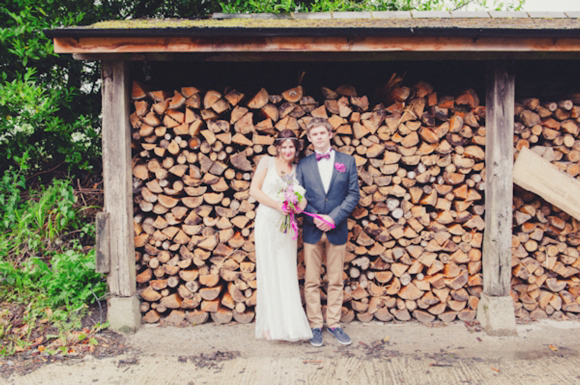 Jenny Packham's Eden For a DIY and Vintage Inpsired, Humanist Hand-Fasting Ceremony in Devon... (Weddings )