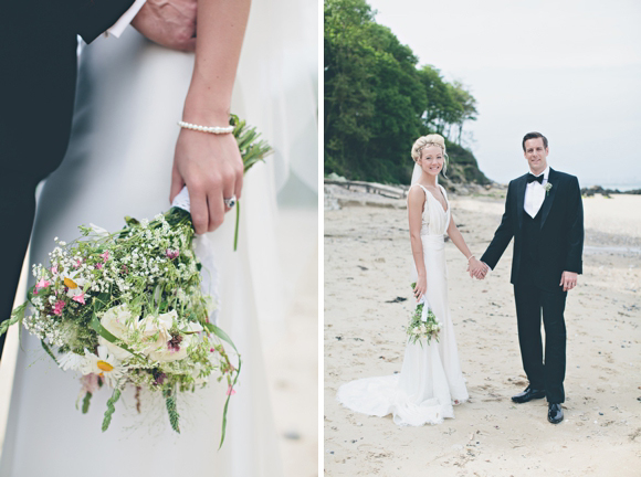 Black Tie and Wild Flowers for a Wedding on the Isle of Wight... (Weddings )