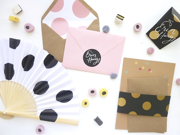 Polka Dot Everything, by Erin Hung of Berinmade.... (DIY Projects )