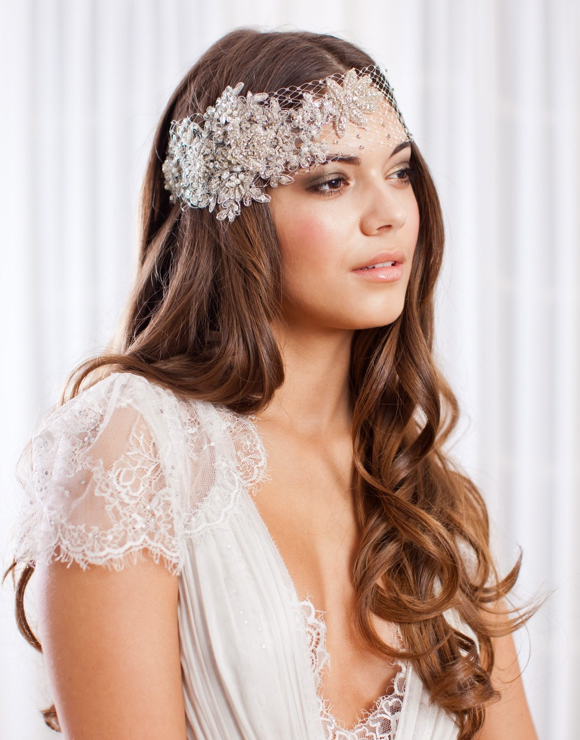 Jannie Baltzer ~ New 2013 Collection of Couture Headpieces and Wedding Veils... (Weddings )