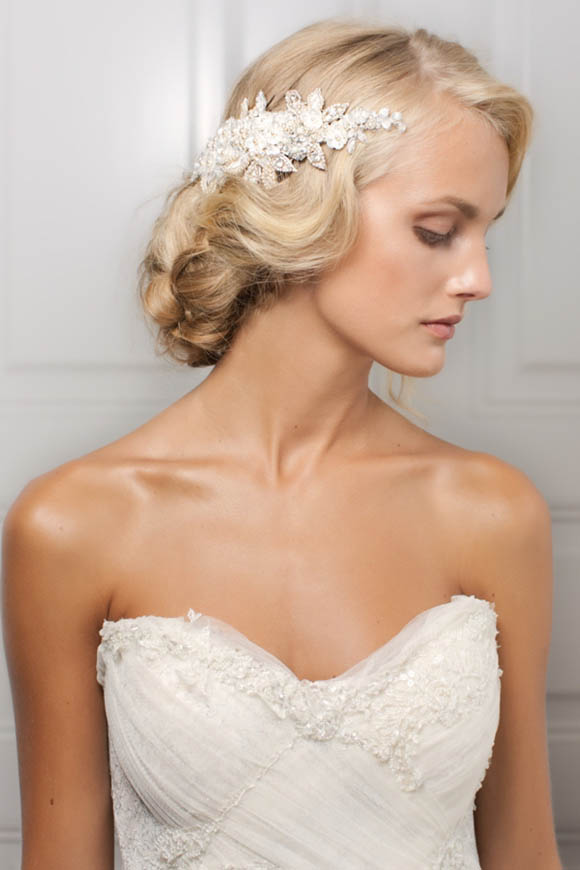 Jannie Baltzer 2013 Collection of Bridal headpieces