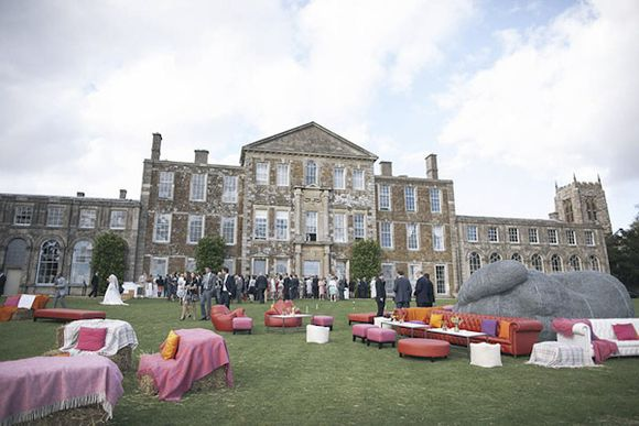 Taxidermy, A Vintage Fair and a Bell Tent Village ~ The Amazing Wedding of Hannah and Henry at Aynhoe Park... (Weddings )