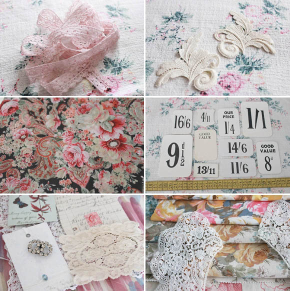 The Linen Garden by Vicky Trainor ~ Vintage Haberdashery & Fabric DIY Made Easy... (DIY Projects Weddings )