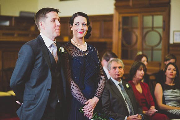 Navy Blue Biba at House of Fraser Wedding Dress