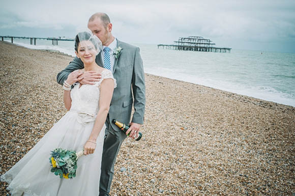 A Pretty Lace 1950's Inspired Dress for a Relaxed Seaside Wedding... ()