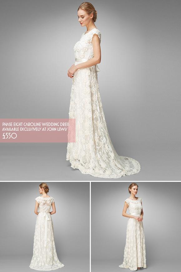 Affordable elegant wedding dresses for brides on a budget for John lewis wedding dresses