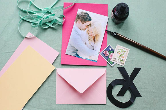 How to make a XOXO Save The Date by Berinmade