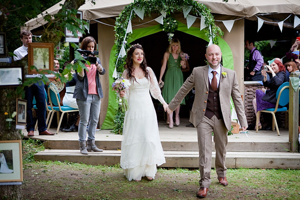 Wedfest! An Edwardian Vintage Wedding Dress and Tipis in Cornwall (Weddings )