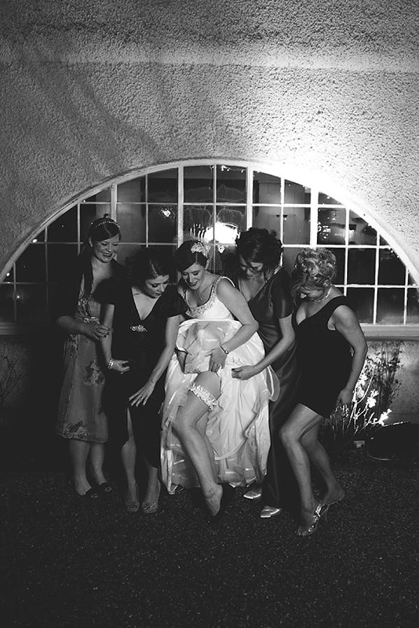 An Alan Hannah Wedding Dress and Pretty Birdcage Veil for a House For An Art Lover Wedding (Weddings )