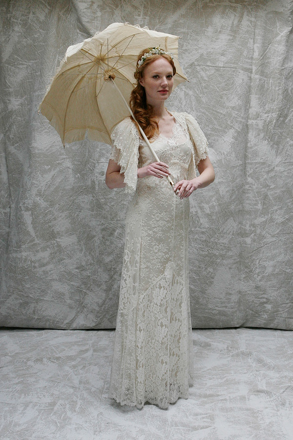 Sally Lacock ~ Vintage Inpsired Wedding Dresses For The Modern Day Bride (Bridal Fashion )