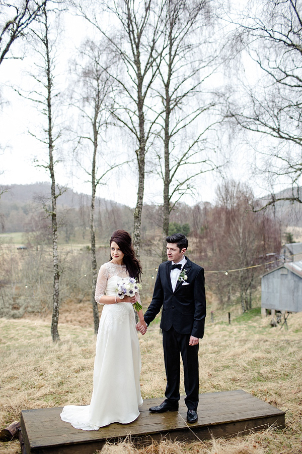 Hitched In The Highlands - A 1960s, Edwardian, And Whimsical Inspired Wedding (Weddings )