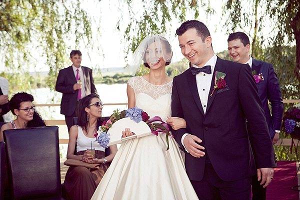 1950s inspired Romanian Wedding
