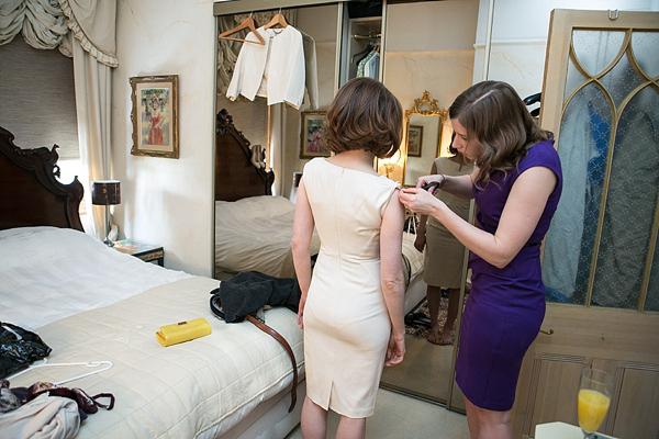 L k bennett white dress 1920