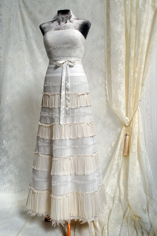 The Joyce Young Couture Vintage Inspired Designer Dress: replica designer clothes uk
