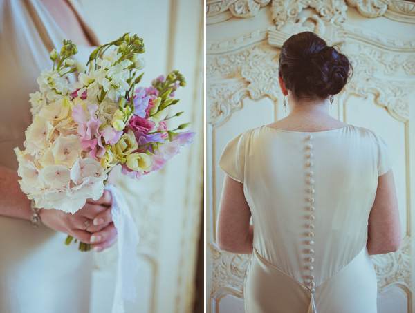 Claire Pettibone Kristene wedding dress, Newton Hall Wedding, Northumberland Wedding, Helen Russell Photography