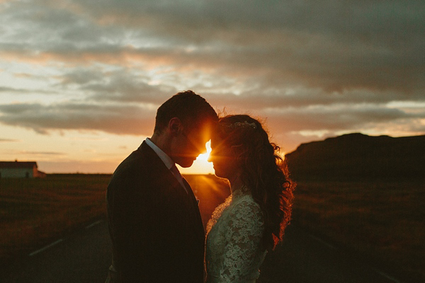 wedding in Iceland, Icelandic wedding, J Crew wedding dress, Monique Lhuillier jacket, destination weddings, photography by Levi Tijerina