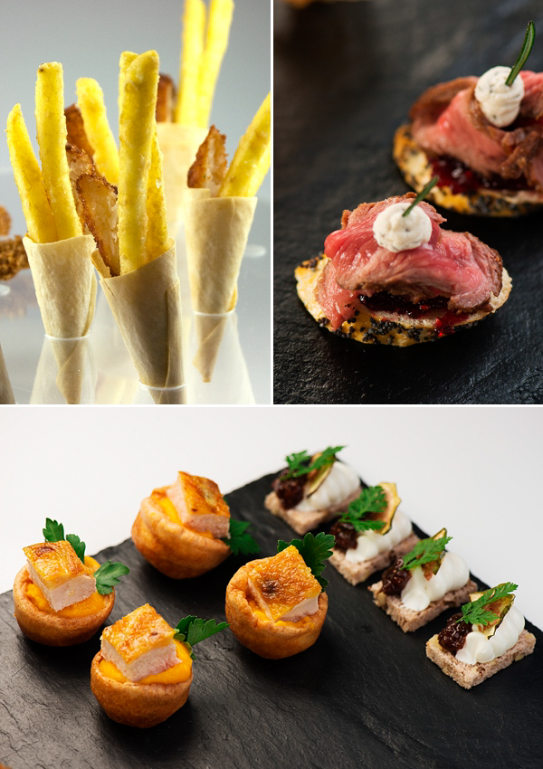 The reinvention of the canap s by kalm kitchen love my for Wedding canape ideas