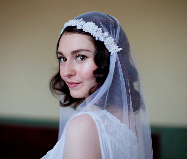 Agnes Hart vintage inspired wedding veils, hats and headpieces