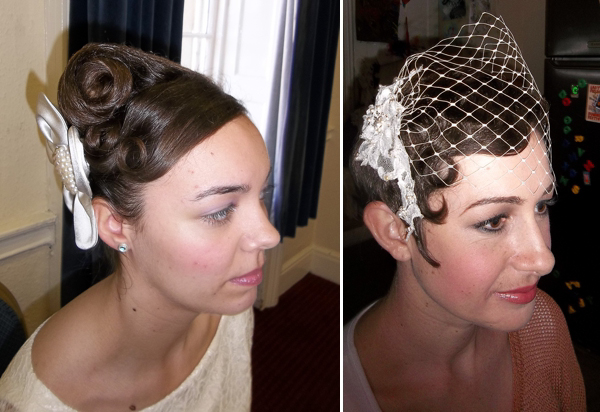Vintage Bridal Hair and Make Up Styling by Amanda Moorhouse of Lipstick and Curls (Beauty )