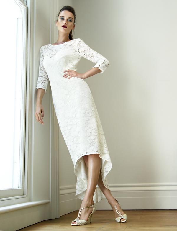 Bride by suzannah modern classic bridal wear for the for Dresses for registry office wedding