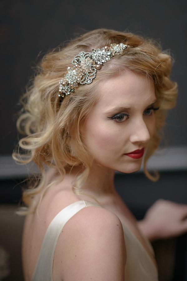 Jo Barnes Vintage ~ Bridal Headdresses Inspired by a Glamorous Bygone Era (Weddings )