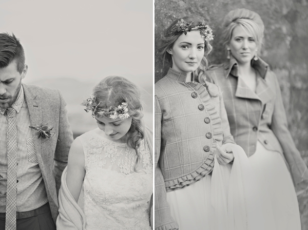 Whimsical and Romantic Scottish Castle Wedding Inspiration (Styled Shoots )