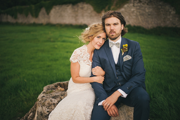 A Temperley London Gown For A Natural, Low-Key, Laid Back, Rustic Style Wedding Under The Trees (Weddings )