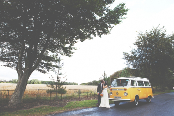 Happiness by Jenny Packham, Handmade outdoor wedding