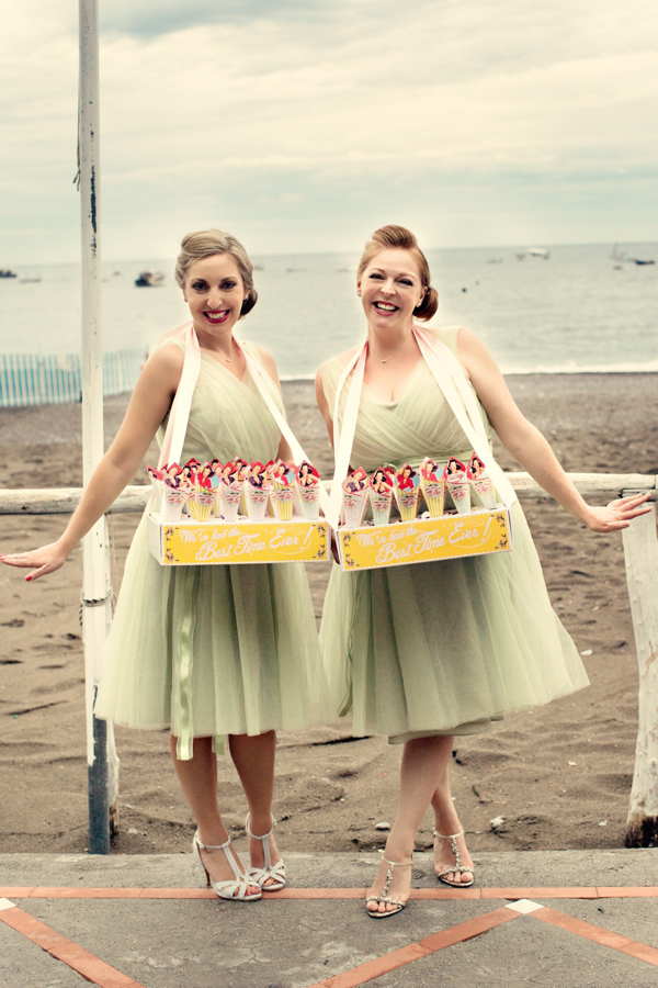 Vintage pinup wedding