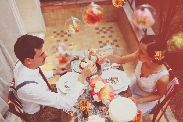 Vintage Italian Wedding Inspiration (Styled Shoots )