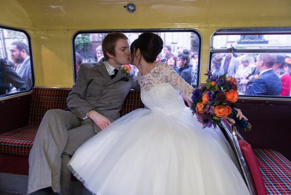A Candy Anthony Gown For A 1960s Mod Inspired Wedding (Weddings )