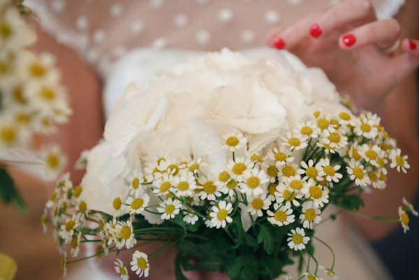 Polka Dots, Daisies and a Yellow Petticoat: A Candy Anthony Dress for a Seaside Wedding (Weddings )