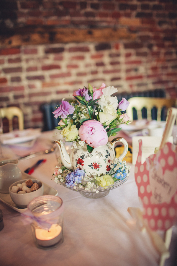 1940s & 1950s vintage inspired afternoon English tea party wedding