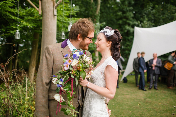 A Vintage and Bohemian Inspired Magical Woodland Wedding (Weddings )
