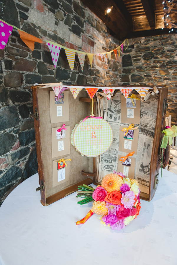 1950s Glamour Meets Bright and Colourful British Country Fete (Weddings )