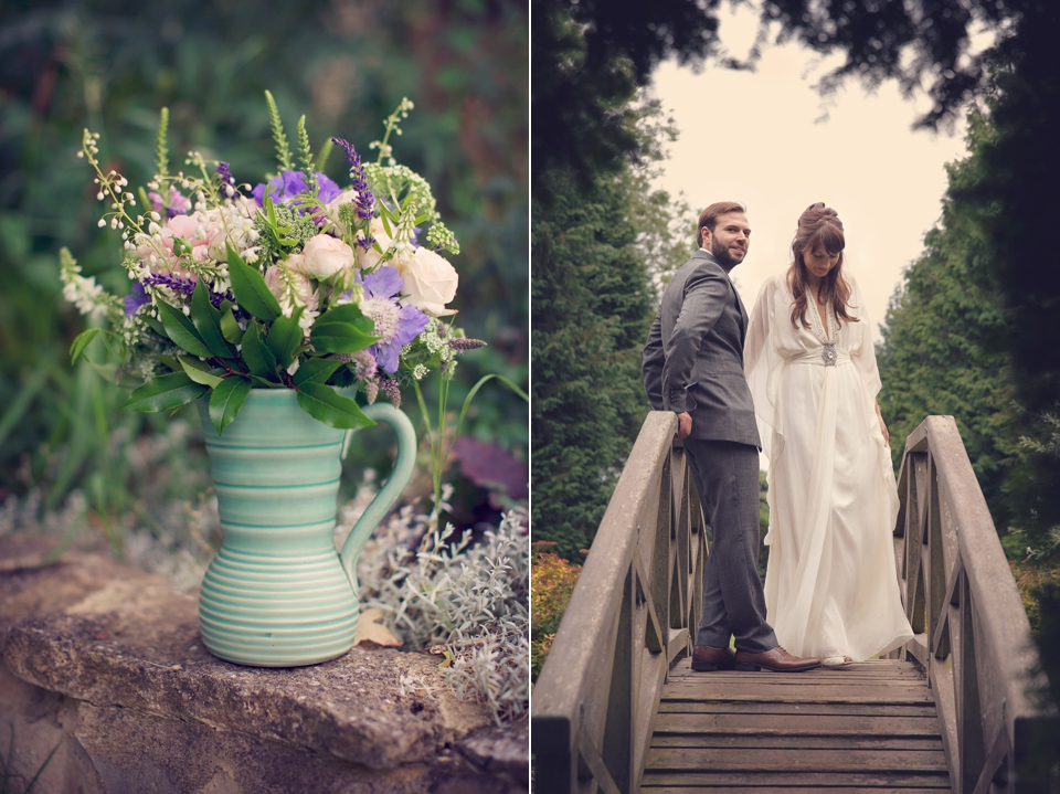 Hanging Flowers And a Matthew Williamson Gown for a 'Country Garden At Night' Inspired Wedding (Weddings )