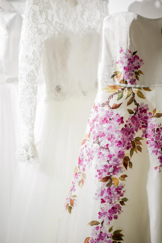 Alan Hannah wedding dresses at The White Gallery, London, April 2014