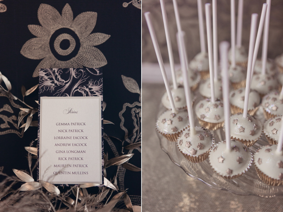 The Moon and the Stars ~ Black and Gold Alternative Vintage Wedding Inspiration (Styled Shoots )