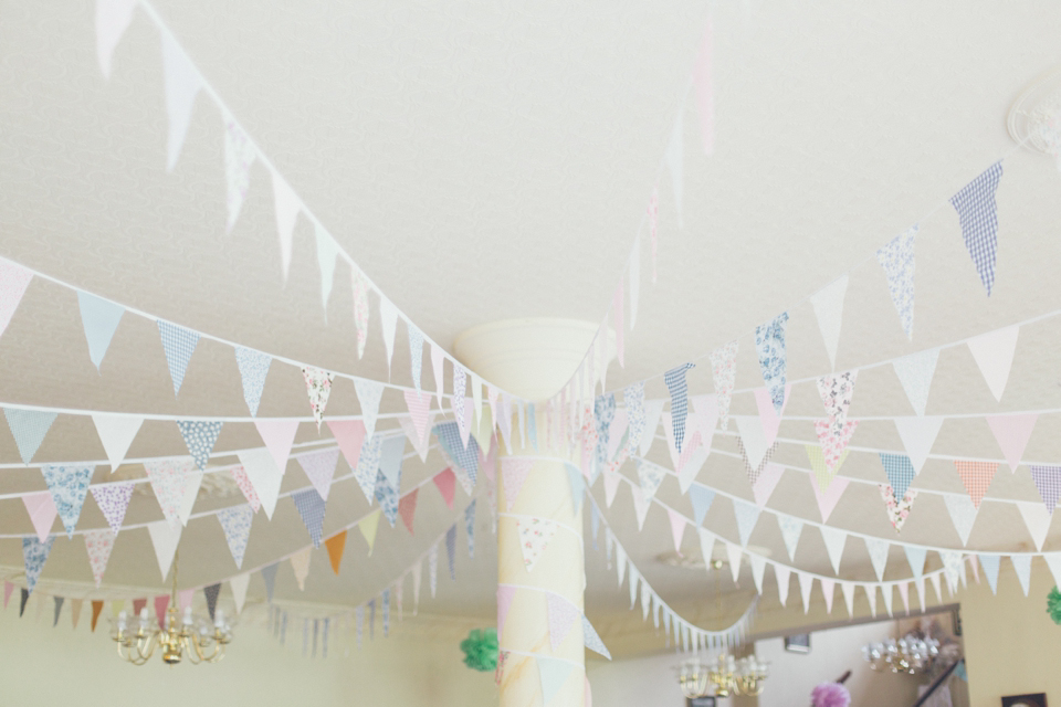 Burlap and Bunting for a Village Fete Inspired Wedding (Weddings )