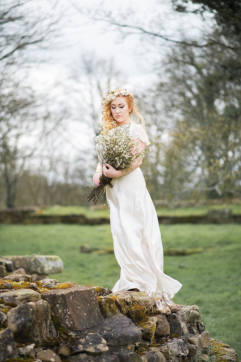 The Shepherds Purse Boutique, Whitby: A Treasure Trove Of Silk Flower Crowns, Gowns And Pretty Things (Bridal Fashion Get Inspired Mood + Inspiration Boards )