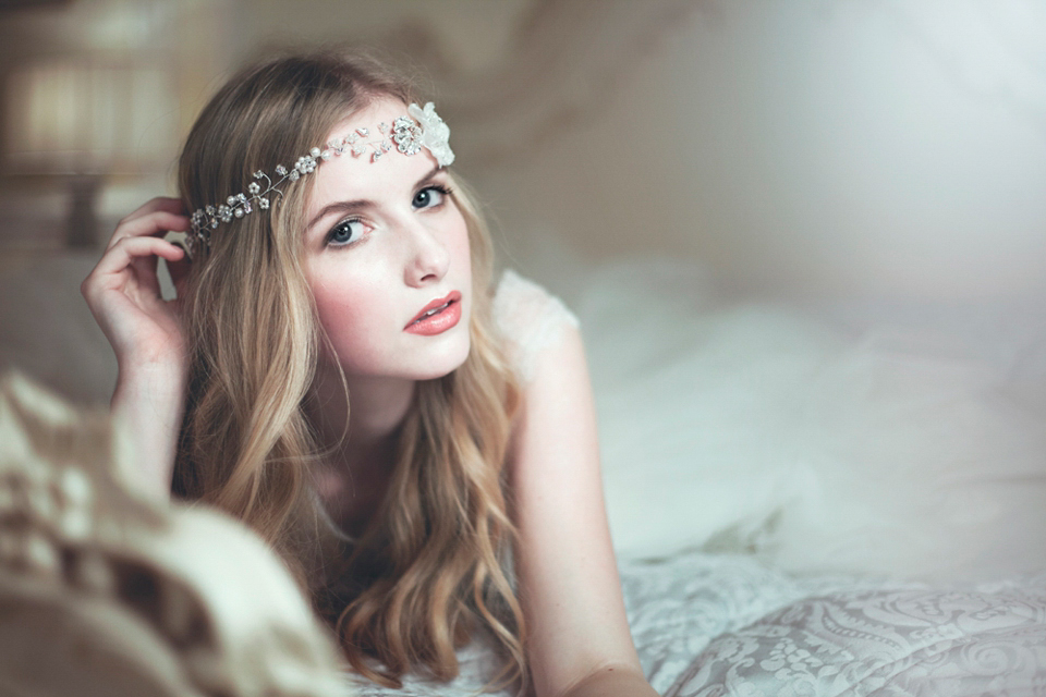 rosie willett, elegant wedding headpieces, elegant wedding accessories, eshott hall