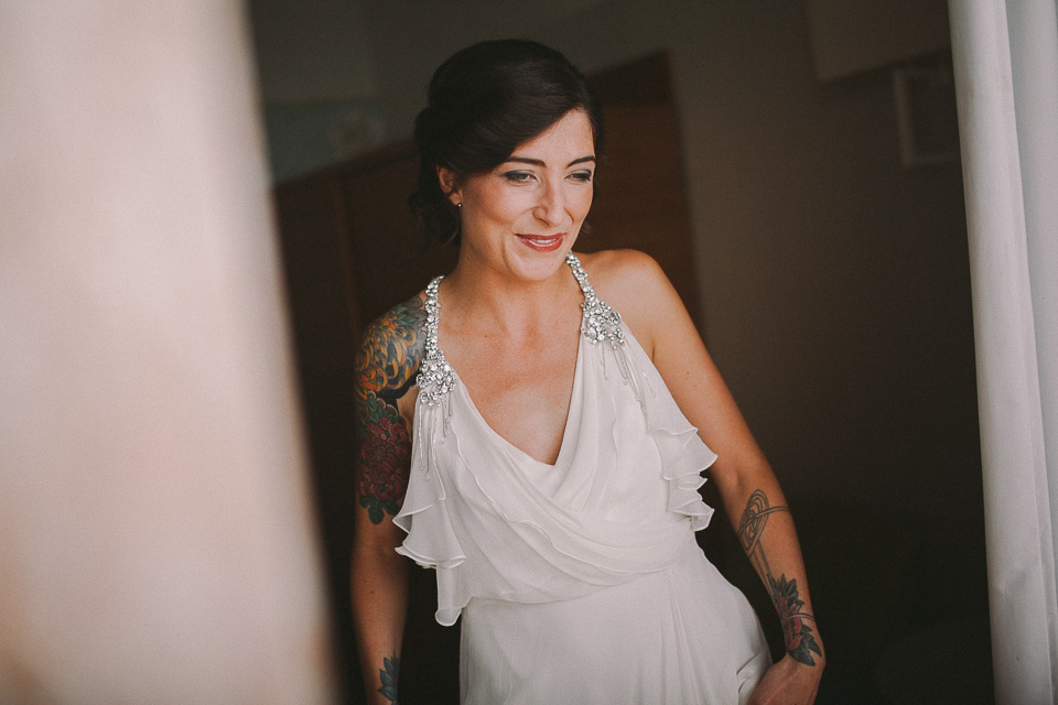 An Elegant Tattooed Bride And Her Intimate Lake Garda Wedding (Films Weddings )