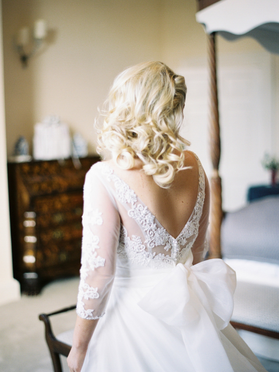 Old School Hollywood Glamour:  The Breathtaking Wedding of Charlotte and Teddy (Films Weddings )
